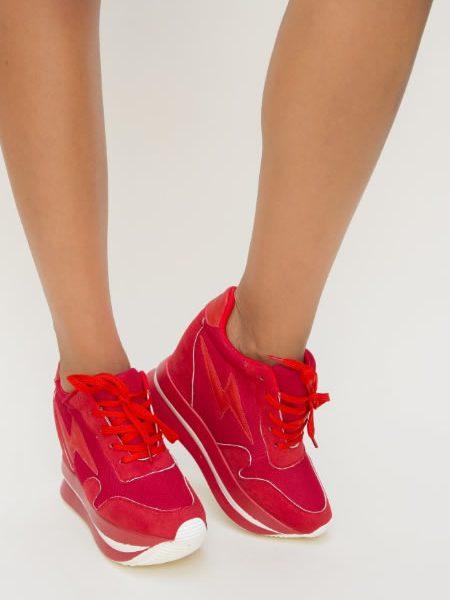 Adidasi Cu Platforma Groasa Si Inalta