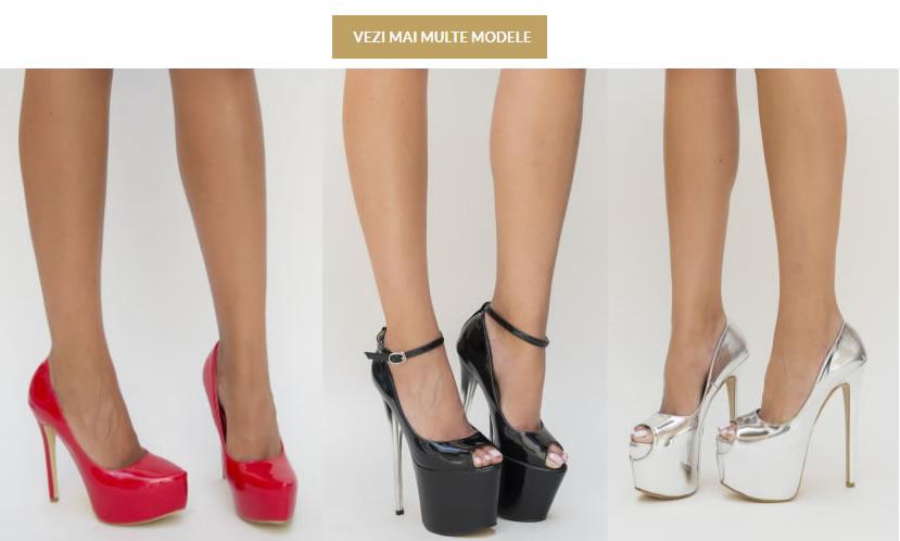 Modele De Pantofi Cu Platforma Si Toc