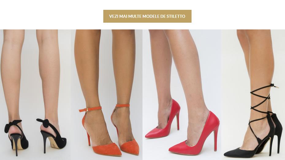 Modele pantofi stiletto