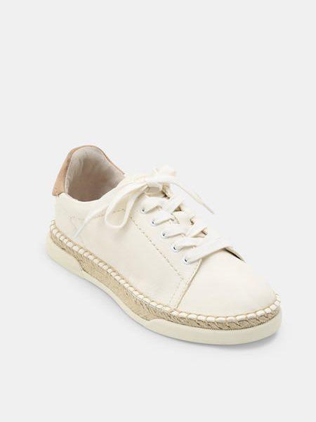 Pantofi Albi Piele Naturala Espadrile Dama Piele Naturala Reducere