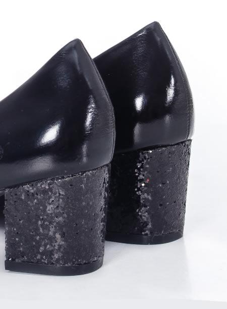 Pantofi Cu Paiete Negre