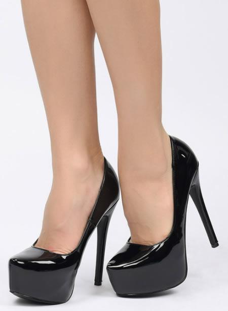 Pantofi Cu Platforma Si Toc
