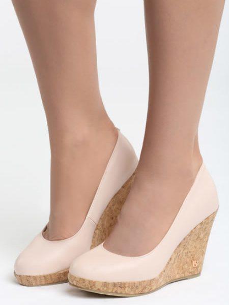 Pantofi Cu Talpa Ortopedica De Pluta Nud