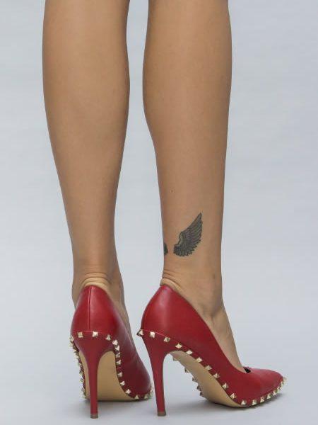 Pantofi Cu Toc Cui Mare