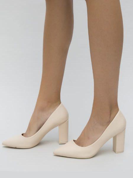 Pantofi Cu Toc Gros La Moda