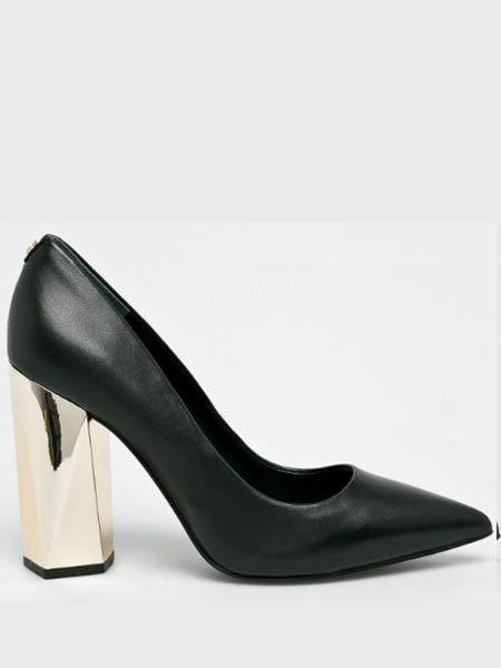 Pantofi Cu Toc Gros Piele Guess