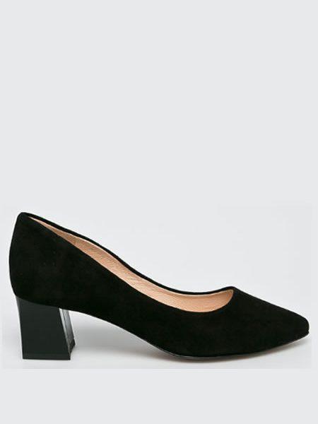 Pantofi Cu Toc Jos Negri