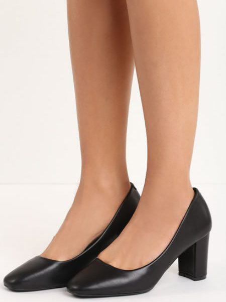 Pantofi Cu Toc Mediu Casual