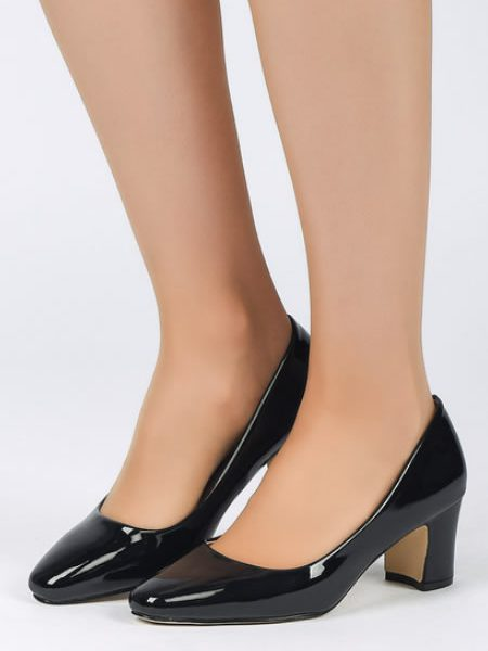 Pantofi Cu Toc Mediu Jos