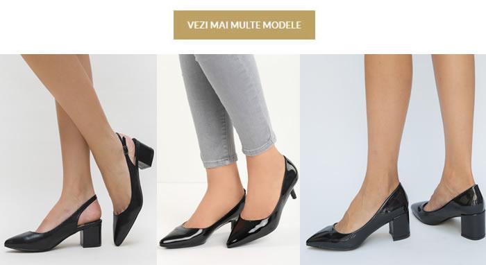 Pantofi Cu Toc Mic Ieftini