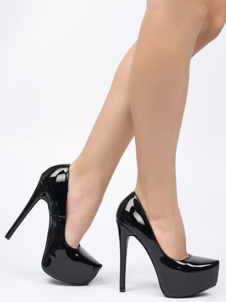 Pantofi Dama Cu Platforma Si Toc
