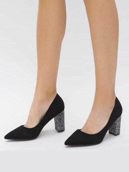 Pantofi Dama Cu Sclipici