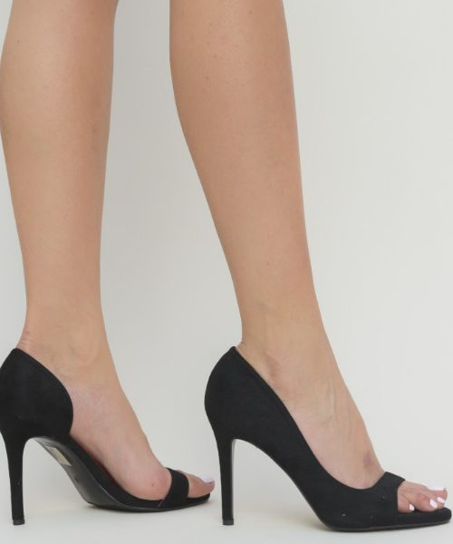 Pantofi Dama Cu Toc Decupati