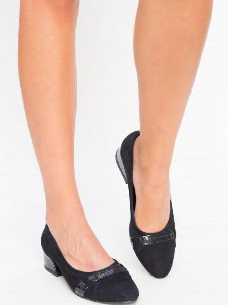 Pantofi Dama Cu Toc Jos Mic