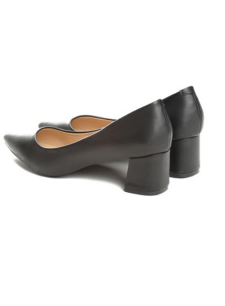 Pantofi Dama Cu Toc Mic Patrat