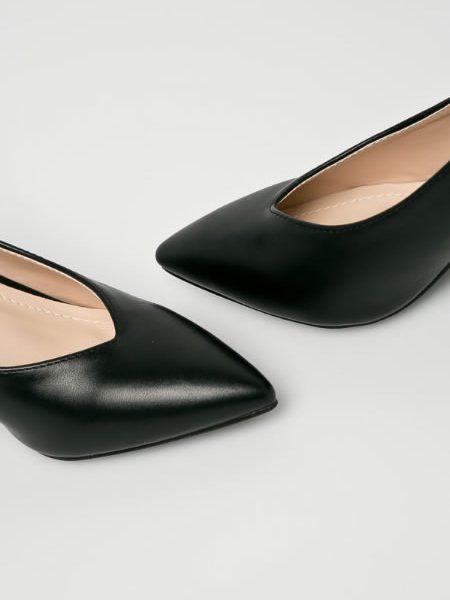 Pantofi Dama Negri Toc Mediu