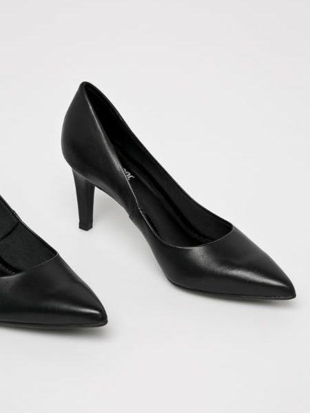 Pantofi Dama Piele Toc Mediu