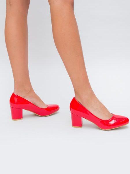 Pantofi De Dama Cu Toc Mediu