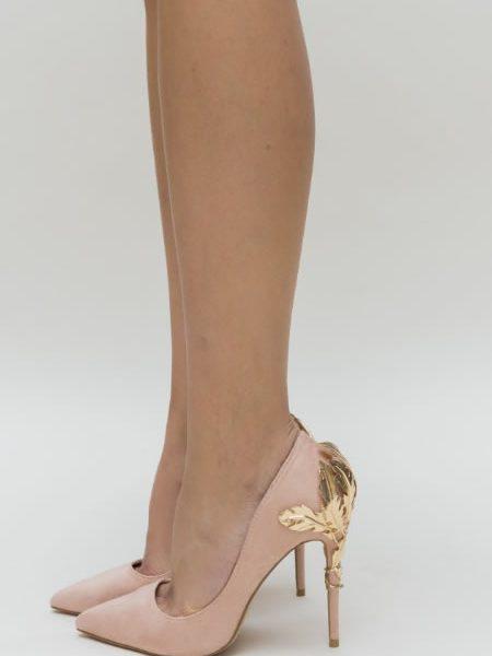 Pantofi De Nunta Roz