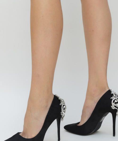 Pantofi De Ocazie Dama Cu Toc Subtire