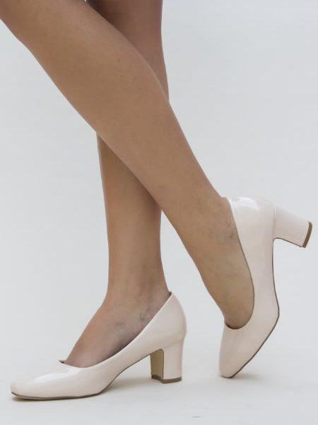 Pantofi Ieftini Cu Toc Mediu 59 Lei
