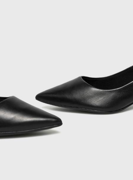 Pantofi Ieftini Cu Toc Mic Piele