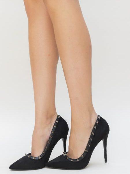 Pantofi Negrii Cu Tinte