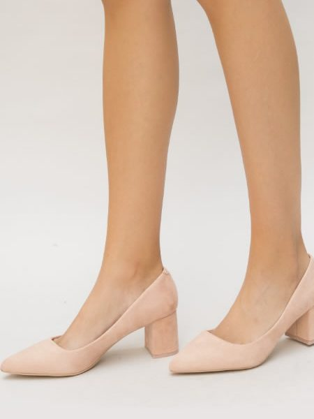 Pantofi Nud Toc Mic