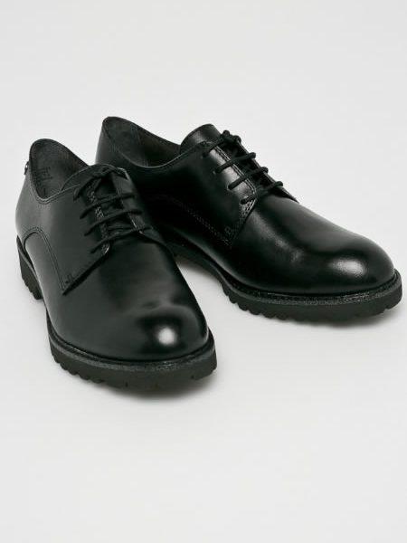Pantofi Oxford Dama De Piele