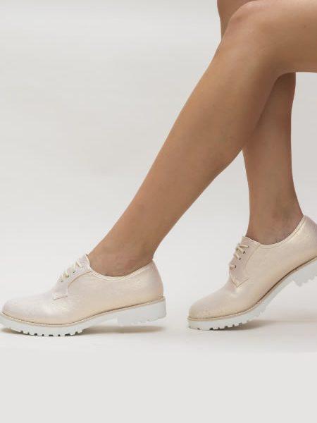 Pantofi Oxford Dama Fara Toc