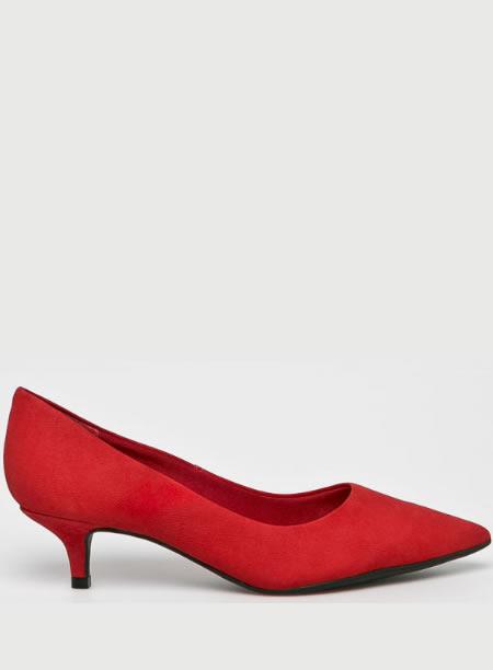 Pantofi Piele Rosi