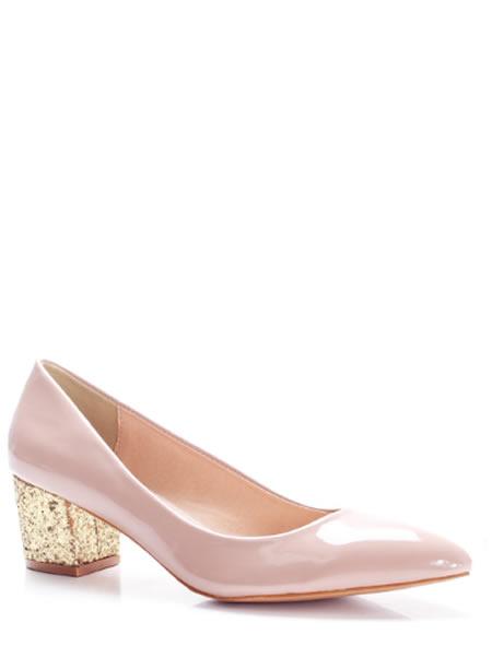Pantofi Roz De Seara Cu Toc Mic