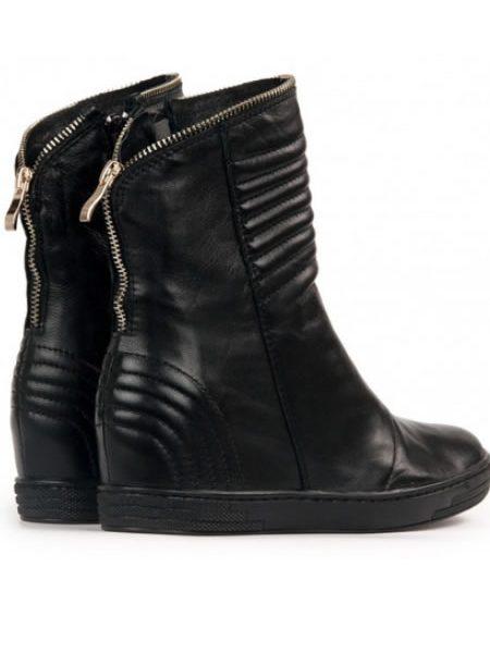 Pantofi Sport Dama Platforma Piele