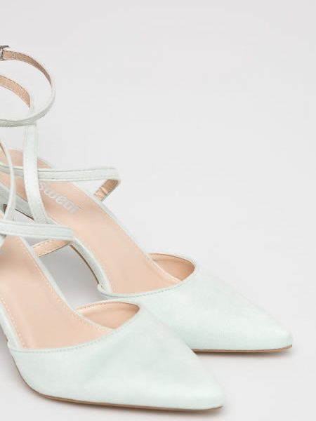 Pantofi Stiletto Cu Calcaiul Decupat De Vara