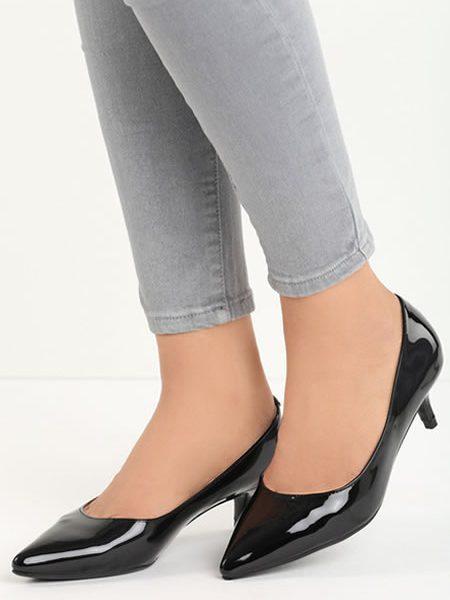 Pantofi Stiletto Cu Toc Mic Ieftini
