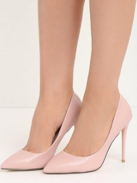 Pantofi Stiletto Roz Deschis