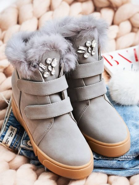 Sneakersi Dama Blana
