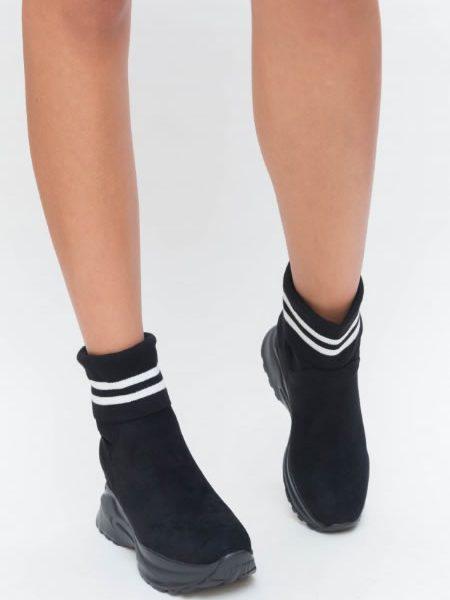 Sneakersi Dama Cu Platforma Stil Ciorap