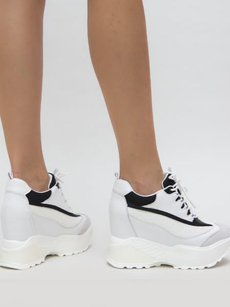 Sneakersi Dama Inalti Cu Talpa Ascunsa
