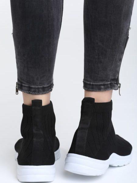 Sneakersi Dama Negri Ciorap