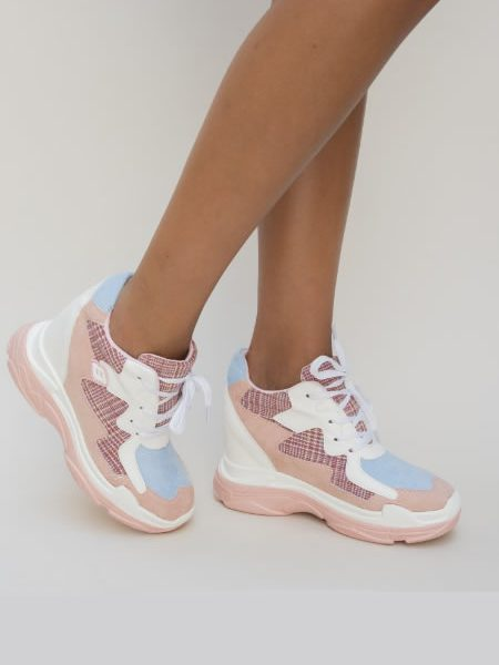 Sneakersi De Dama Roz (2)