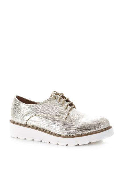 Pantofi Aurii Oxford