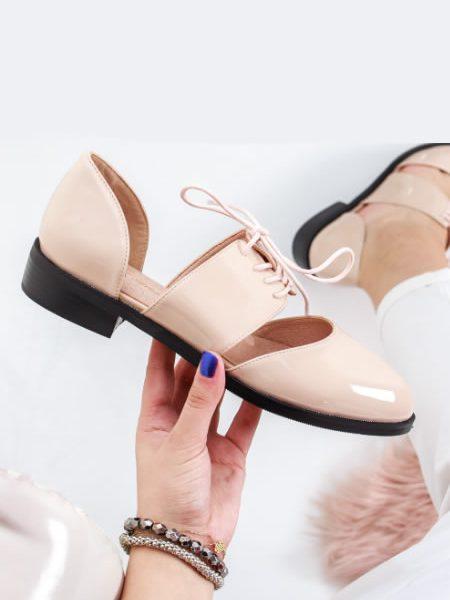 Pantofi Dama Stil Oxford De Vara