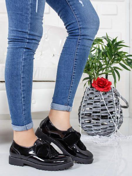 Pantofi Oxford Dama 2018 Negri