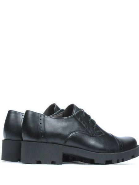 Pantofi Oxford Femei Cu Toc Patrat