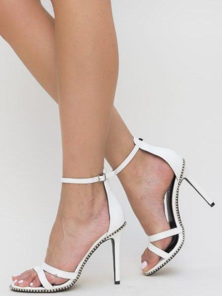 Sandale Albe Dama Elegante