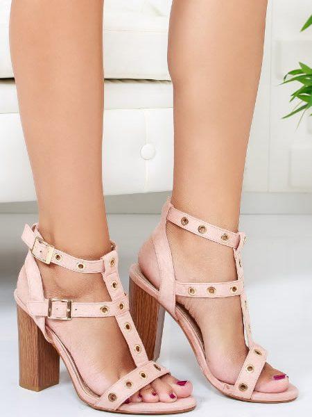 Sandale Comode Cu Toc Gros