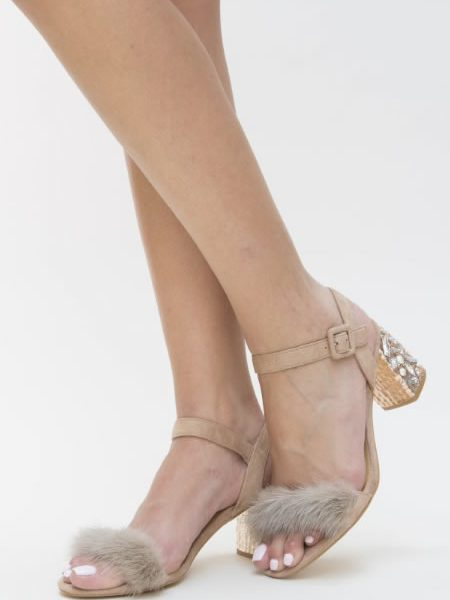 Sandale Cu Blanita De Ocazie