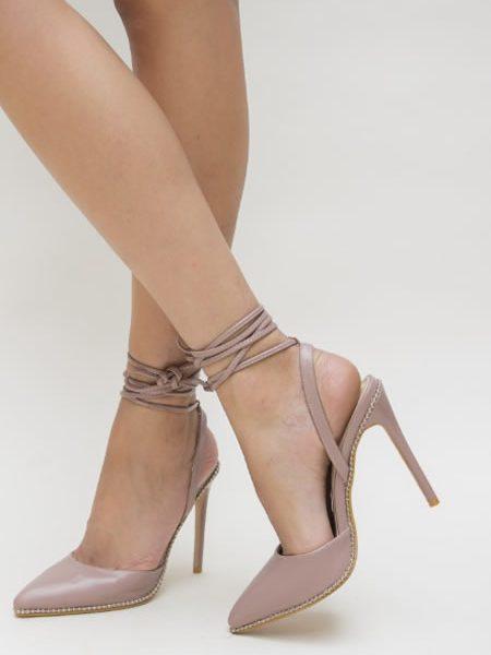 Sandale Cu Snur Pe Picior Elegante
