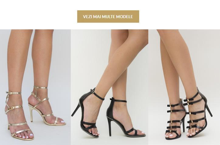Sandale Cu Toc Cui Elegante